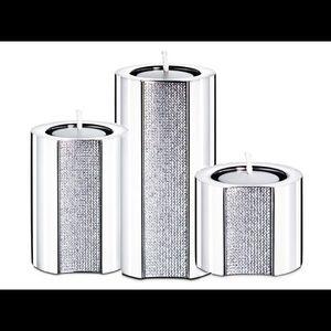 Swarovski Accents - Large Swarovski tea candle holder Ambiray 1096437